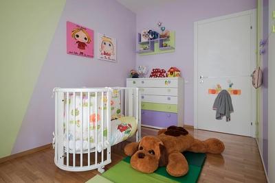 Camera montessoriana per bambini di Casa Trieste - officineMAMA