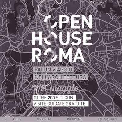 Open House 2016 mappa di roma