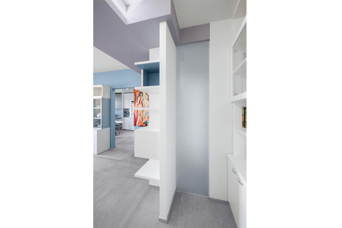 Casa Colli Anieni - 2016 - Dettagli Arredo Salone - ph Emiliano Vincenti