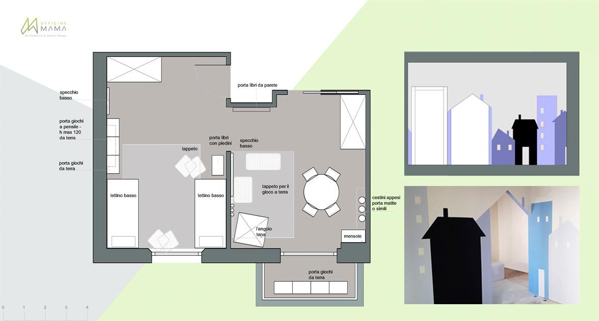 A misura di bimbo la camera montessoriana e non solo - Camera montessori ...
