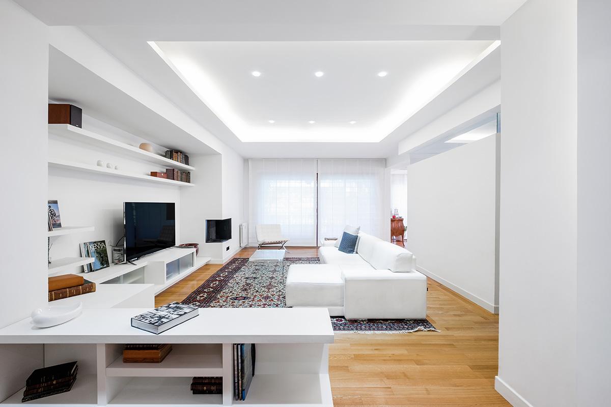 Casa Balduina - Soggiorno - officineMAMA - ph Emiliano Vincenti