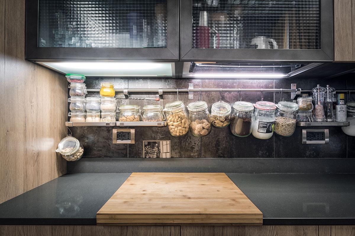 Casa del Pianista - Particolare della cucina Diesel Social Kitchen by Scavolini